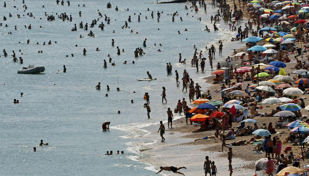 <strong>FAKTISK:</strong> Faktisk.no har sjekket, og det slås fast at virussykdommen vestnilfeber, som overføres av mygg, ikke gjør at turister advares mot å reise til Hellas. Det anbefales heller forebyggende tiltak. Foto:REUTERS/Yannis Behrakis