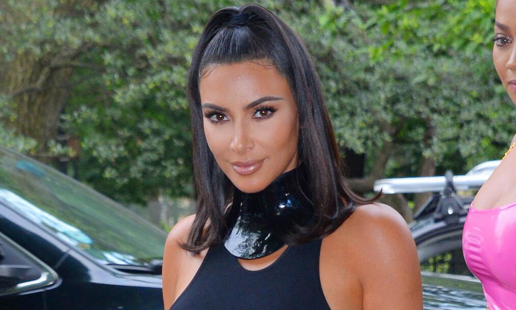 KRITIKK: Realitystjernen Kim Kardashian West blir nok en gang beskyldt for kulturell appropriasjon etter at hun lanserte et eget undertøysmerke med navnet «Kimono». Foto: NTB scanpix