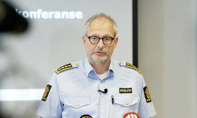 POLITIINSPEKTØR: Tommy Brøske. Foto: Henning Lillegaard / Dagbladet