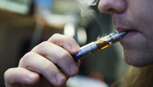 Enda en person død av e-sigaretter i USA
