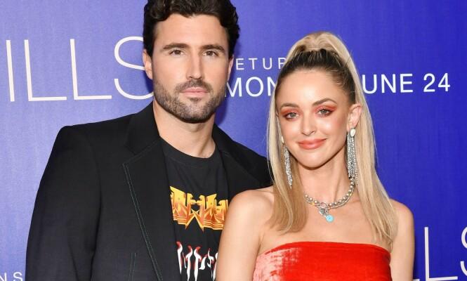 PREMIERE: Brody Jenner og kona Kaitlynn Jenner på premieren på «The Hills: New Beginnings». Foto: NTB Scanpix.