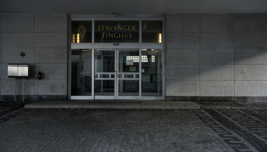 Erstatningskravet ble behandlet av Stavanger tingrett. Foto: Carina Johansen / NTB scanpix.