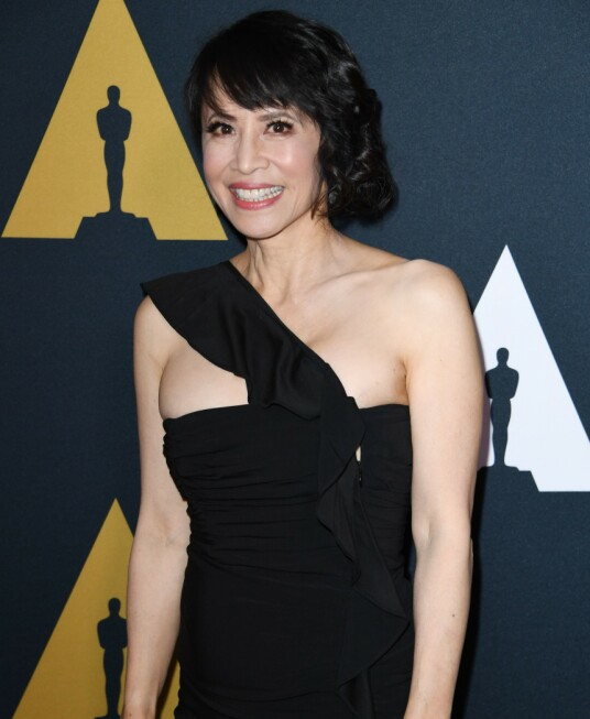 LAUREN TOM: The actress was photographed in red in 2018, in relation to the 25th anniversary of