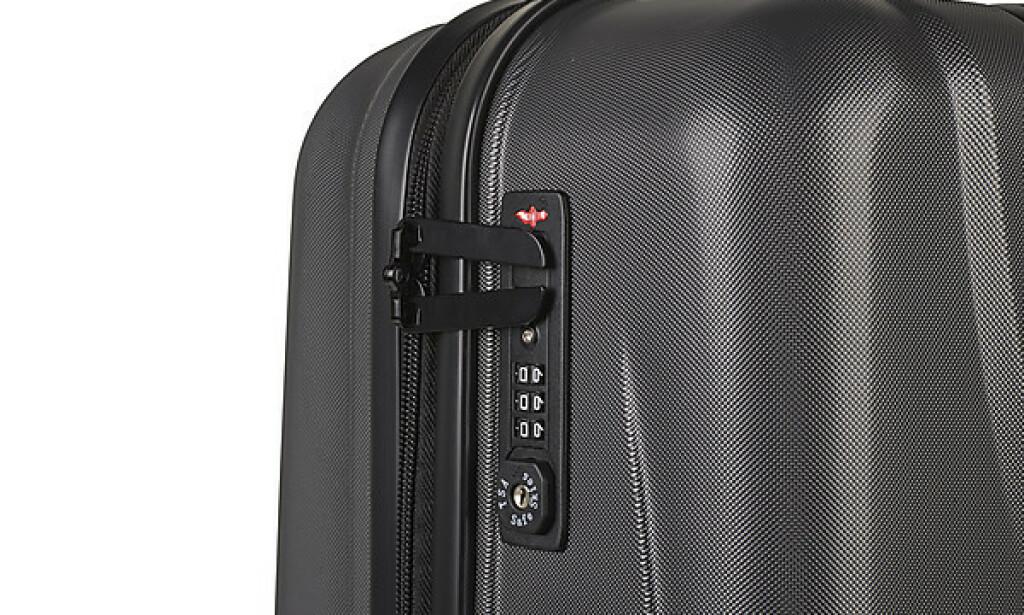 USA-SIKKER: Om feriedestinasjonen er USA er det smart å ha en koffert som er slipper helskinnet inn.