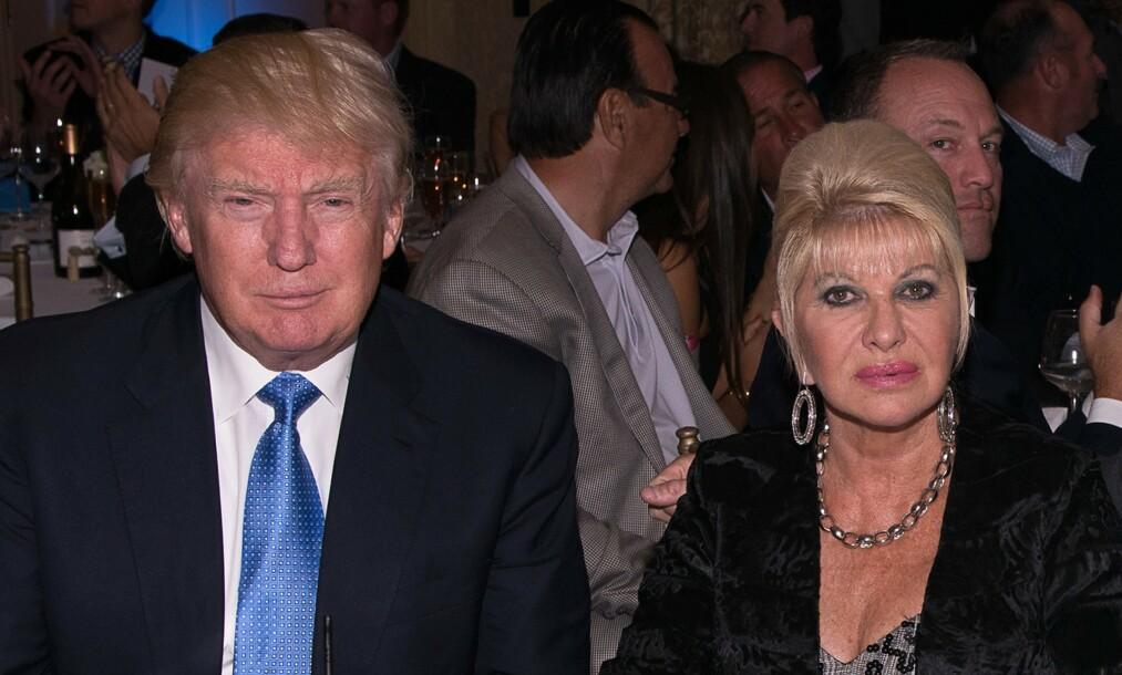 <strong>EKSMANN:</strong> Ivana Trump er best kjent som president Donald Trumps ekskone, en tid da hun var blant de mest omtalte konene i New York. Etter at paret skilte seg i 1992, har hun vært gift flere ganger. Nå er hun igjen singel. Foto: NTB Scanpix