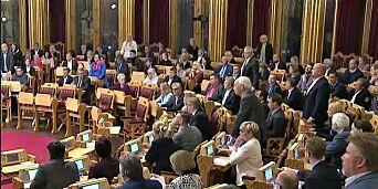 image: En uvirkelig og trist opplevelse i Stortinget