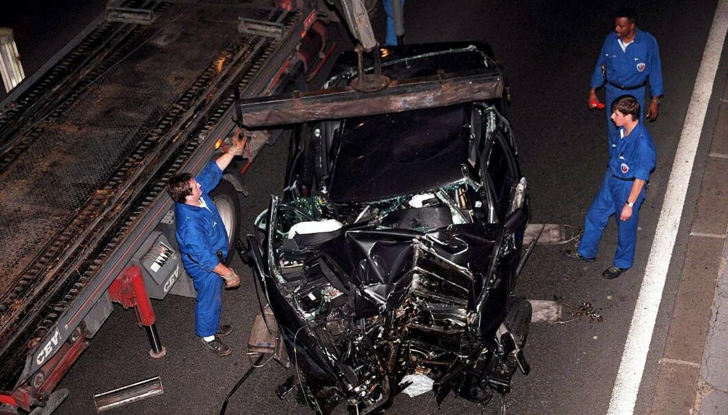 <strong>FATALT:</strong> Selv om både pressen og sjåføren ble klandret for det katastrofale sammenstøtet, konkluderte etterforskningen at dødskrasjen var en ulykke. Foto: NTB Scanpix