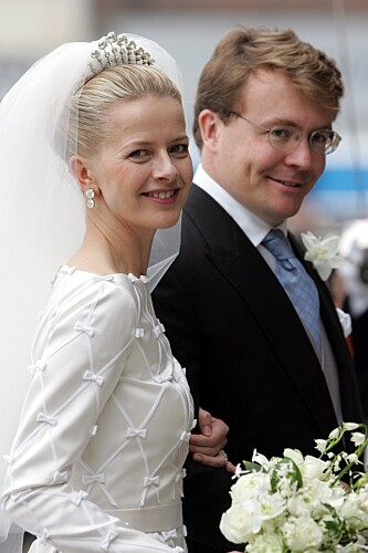 <strong>FIKK NI ÅR:</strong> I 2004 giftet prins Johan Friso seg med kona Mabel. Ni år seinere døde han. Sammen fikk paret to døtre. Foto: NTB Scanpix