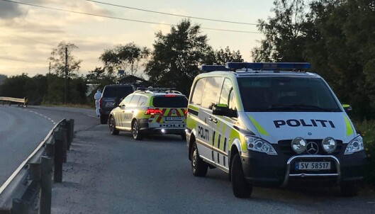 To personer ble funnet drept på Kolltveit på Sotra utenfor Bergen torsdag ettermiddag. Foto: Richard Halland / NTB scanpix