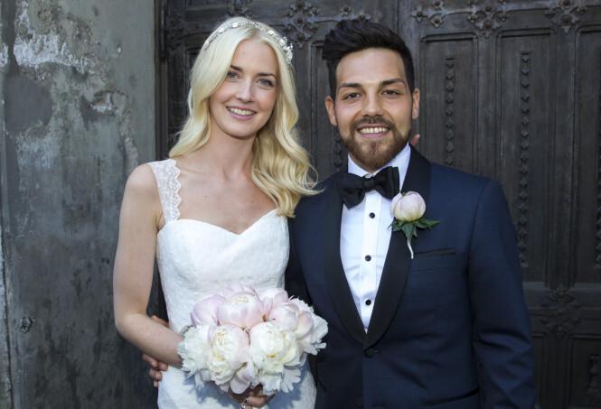 SJELEVENNER: Alejandro Fuentes har aldri lagt skjul på at han er glad for at han traff kona Christina. Foto: Andreas Fadum /Se og Hør