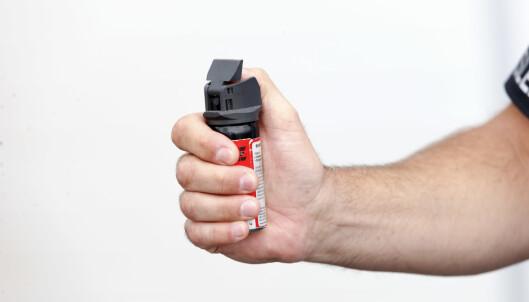Vil la tollere bære pepperspray