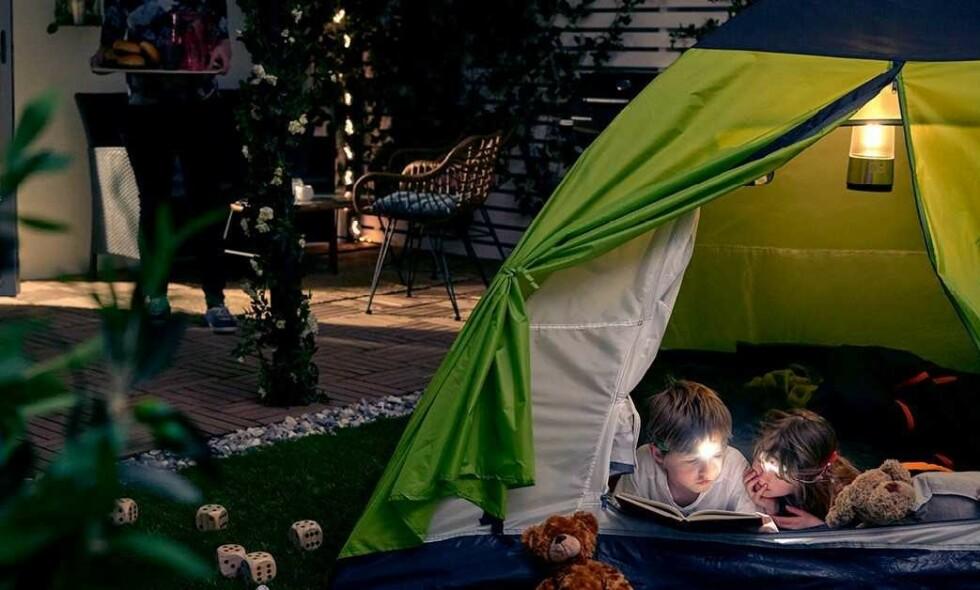 HJEMMEFERIE: Det er massevis av gøyale ting å finne på hjemme på sommeren.