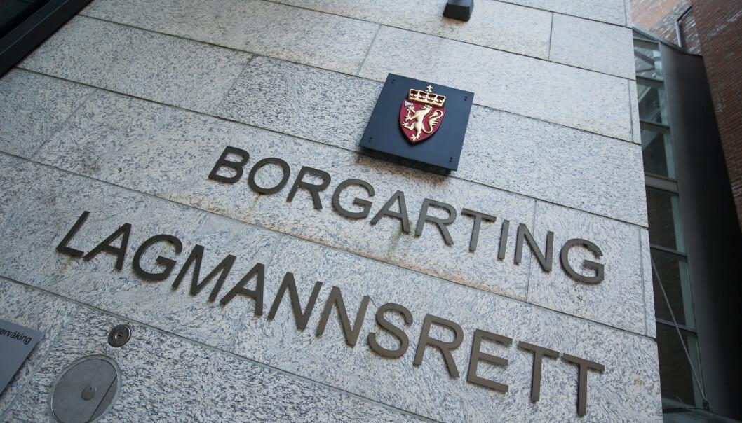 Forsikringsselskapet AIG har trukket anken over Oslo tingretts dom fra 2018, hvor selskapet ble dømt til å betale åtte kommuner 50 millioner kroner. rettsforliket ble inngått i Borgarting lagmannsrett fredag. Foto: Trond Reidar Teigen / NTB scanpix