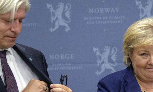 image: Derfor kveler Erna klimaministerens nye baby