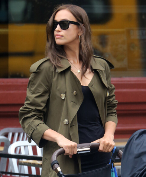 BE CALLED: Last week, Irina Shayk was conceived without a fiancee while traveling with her daughter in New York. Photo: NTB Scanpix