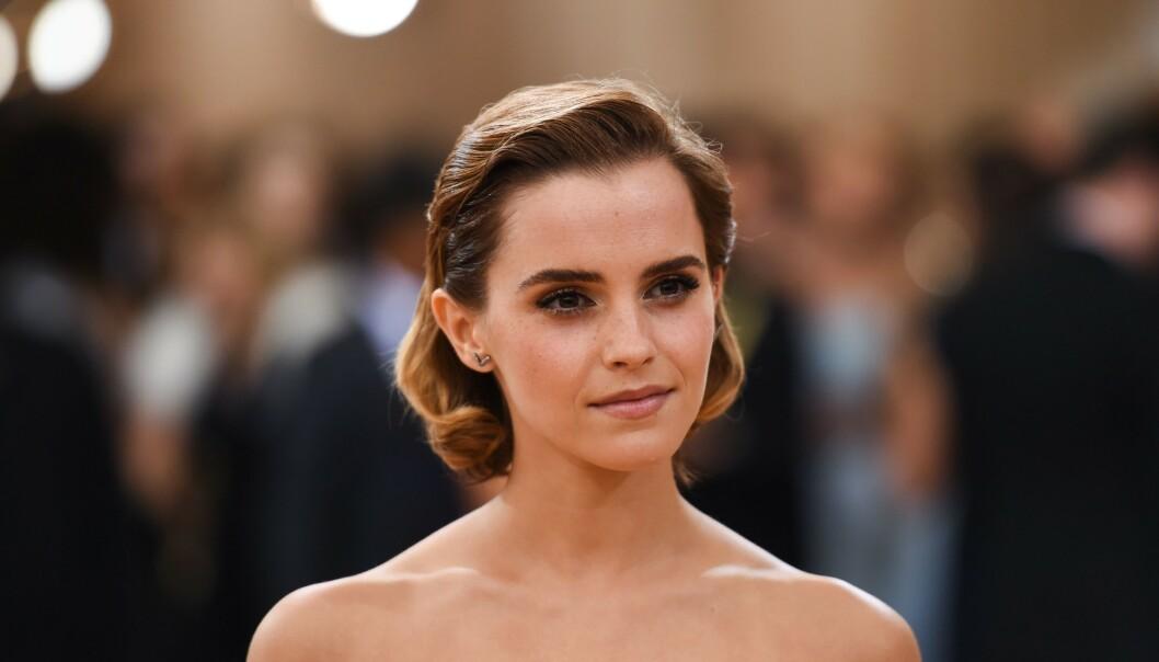 ETTERTRAKTET: Emma Watson har mange beundrere - og blant dem er artist Shawn Mendes. Foto: NTB Scanpix