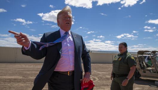 Dommer stanser bruk av penger til Trumps mur