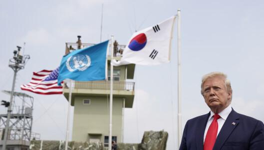 Krysset grensa til Nord-Korea