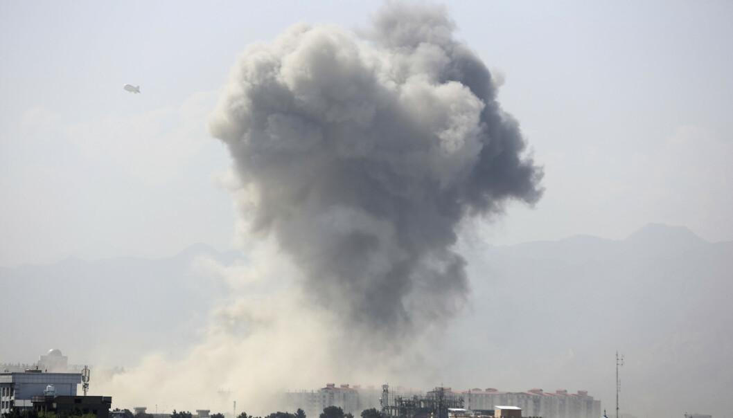 Kraftig eksplosjon i Kabul - minst 50 såret