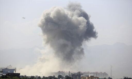 image: Kraftig eksplosjon i Kabul - minst 50 såret