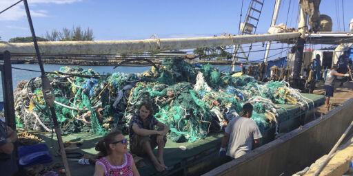image: Plastmareritt i Stillehavet: Fjernet 40 tonn søppel