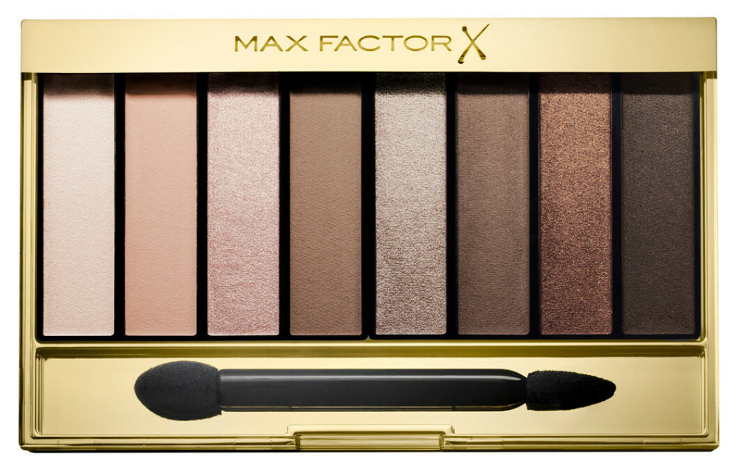 Øyenskygge fra | Max factor |https://www.vita.no/merker/max-factor/max-factor-masterpiece-nude-palette-01-cappuccino-322176?utm_source=KKnative_Pia32