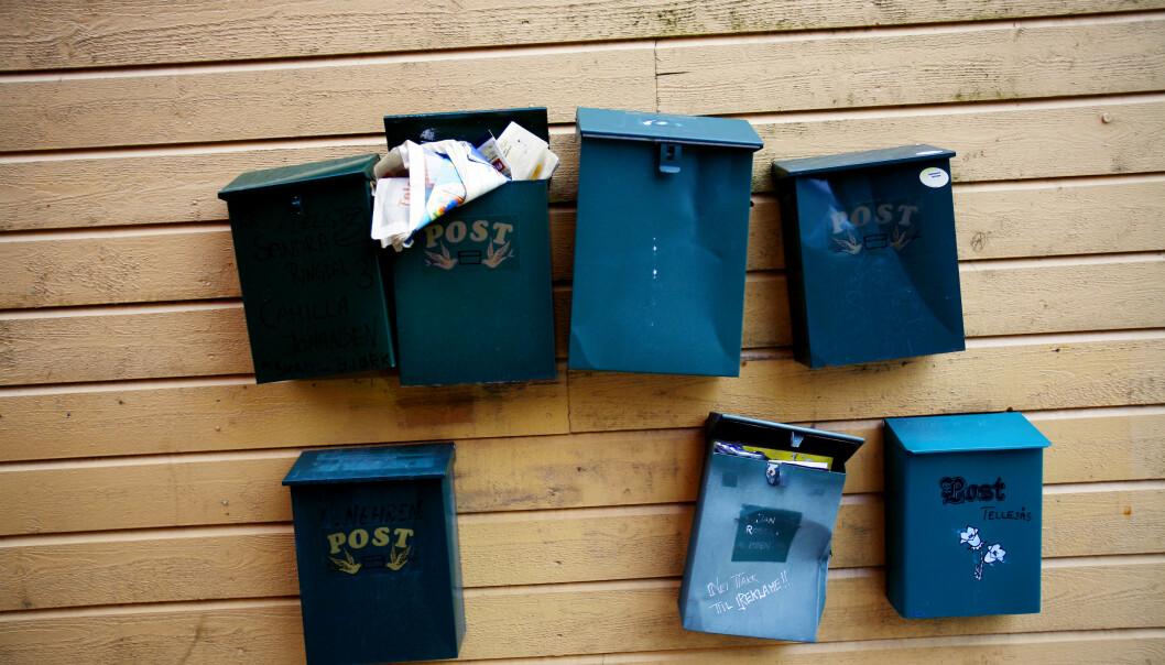 <strong>NYTT NUMMER:</strong> Posten varsler at det i høst skal innføres nye postnumre i flere steder i landet. Foto: Sara Johannessen