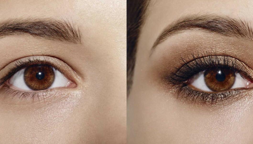ØYESMINKE: En lekker eyeliner gir illusjon av lengre øyne og en mørk skygge tilfører dybde. FOTO: Max Factor