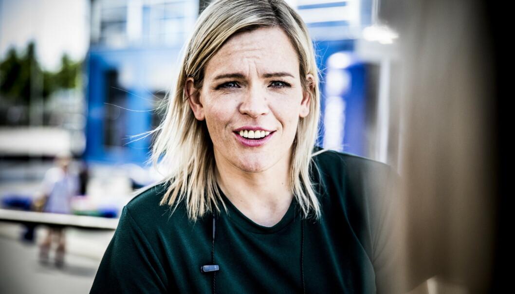 BLE MAMMA: I begynnelsen av mai ble NRK-programleder Carina Olset mamma for første gang. Nå forteller hun om sitt nye liv. Foto: Christian Roth Christensen / Dagbladet