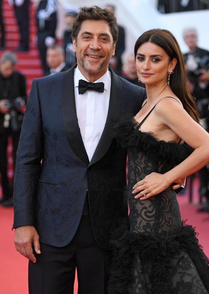 STJERNEPAR: Penelope Cruz og ektemannen Javier Bardem forelsket seg på settet til det romantiske dramaet «Vicky Cristina Barcelona» i 2007. Foto: NTB scanpix