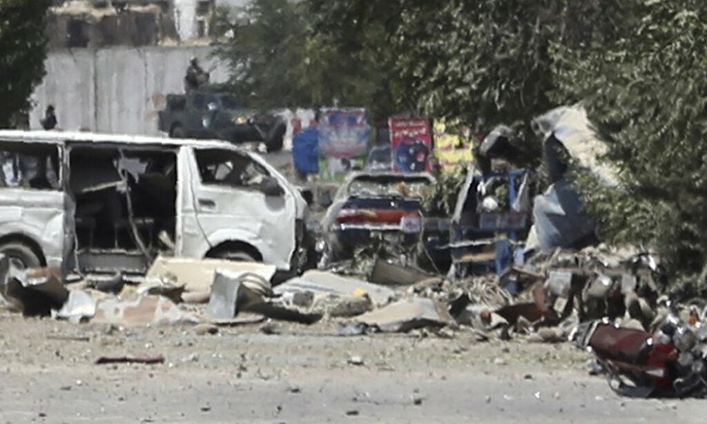 image: Elleve drept i Kabul – USA fordømmer Taliban