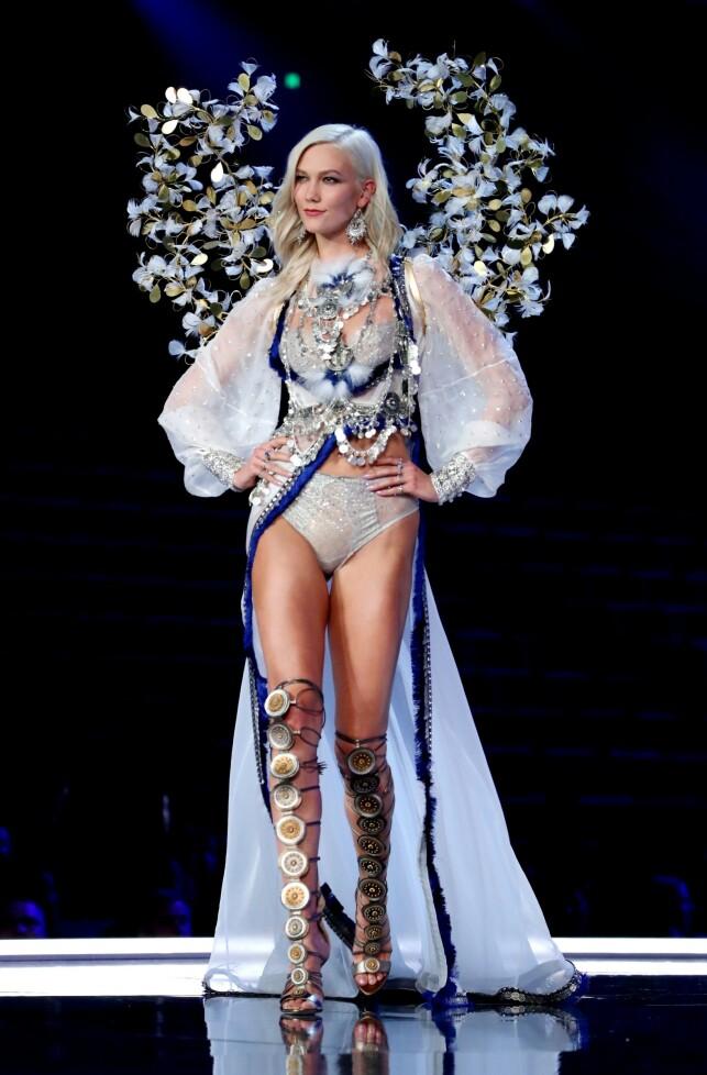 SUPERMODELL: Kloss har tidligere gjort det stort som modell. Nå avslører hun hvorfor hun sluttet i undertøysgiganten. Foto: NTB Scanpix