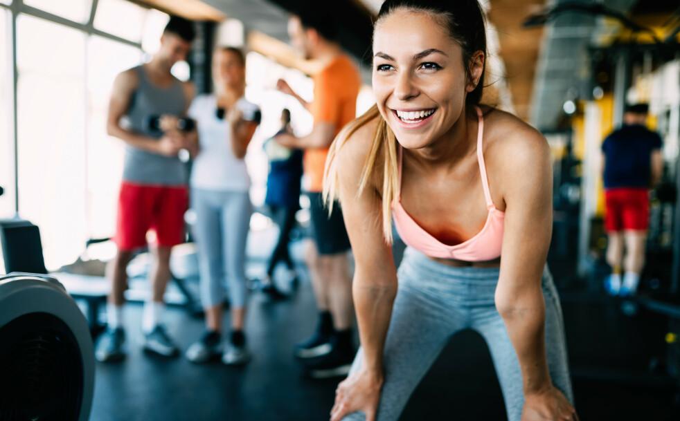 TRENING: De alle trener mellom 3-5 ganger i uka, men de varierer mellom alt fra Zumba til CrossFit og løping. FOTO: NTB Scanpix