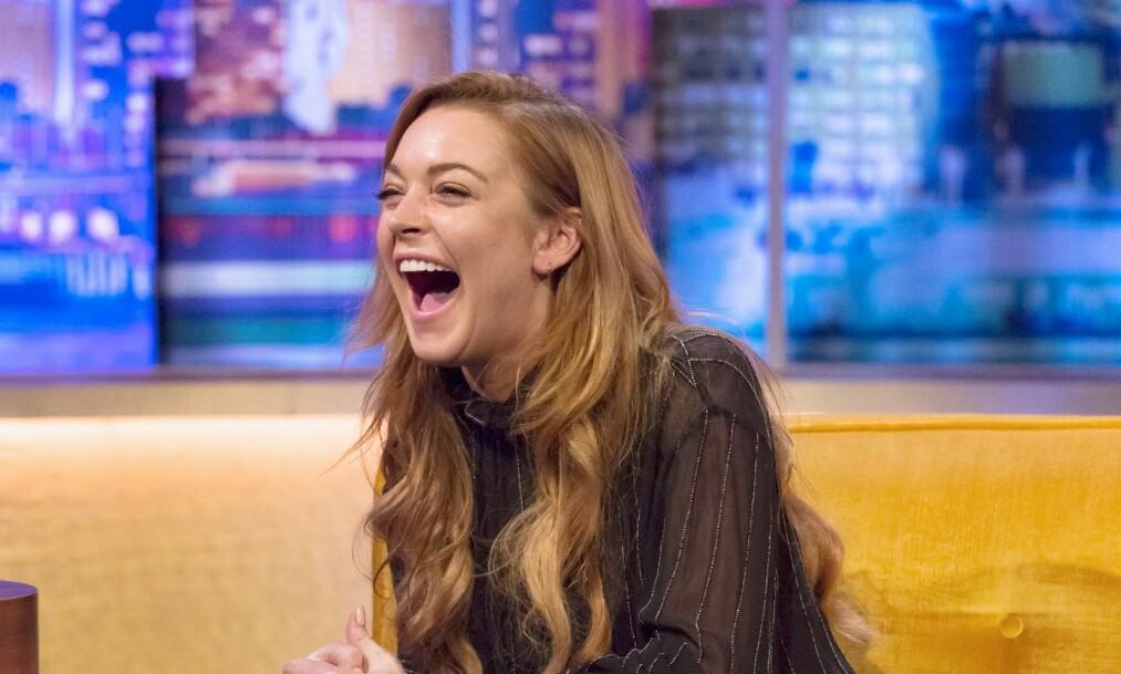 BURSDAG: Lindsay Lohan (33) kommer med et oppsiktsvekkende bilde på Instagram i anledning sin fødselsdag 2. juli. Foto: NTB Scanpix