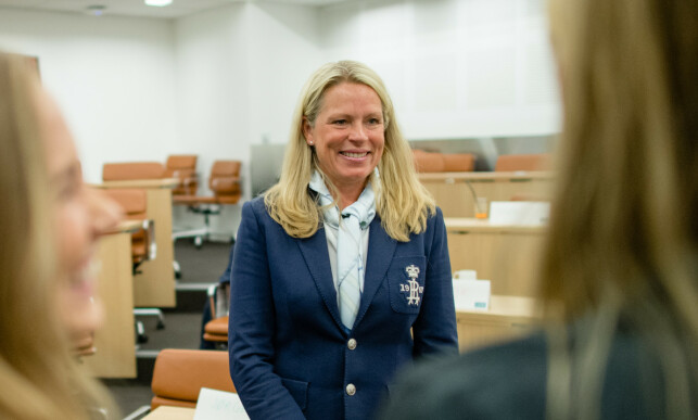KONSERNDIREKTØR: Solveig Hellebust er en av seks kvinner i DNBs konsernledelse. Foto: DNB