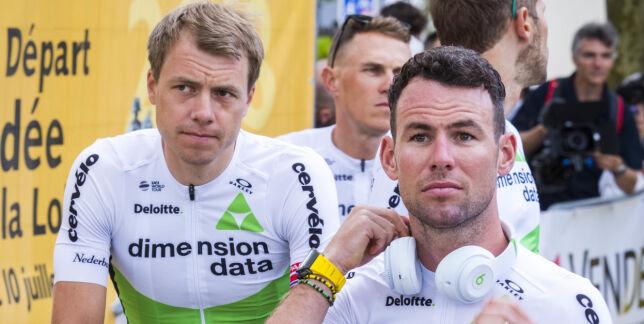 image: Cavendish vraket til Tour de France