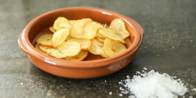 <strong>Potetgull:</strong> Nystekt potetgull rett fra mikrobølgeovnen smakte helt utmerket. Foto: Øivind Lie-Jacobsen