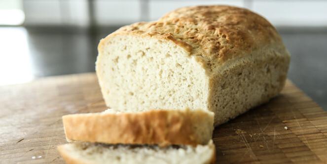 <strong>Godt brød:</strong> Brødet fikk ingen varige med etter å ha fått en runde i mikroen. Snarere tvert i mot. Foto: Øivind Lie-Jacobsen