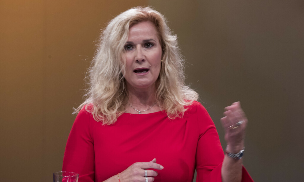 UENIG: Karita Bekkemellem, administrerende direktør i Legemiddelindustrien (LMI). Foto: Terje Pedersen / NTB scanpix