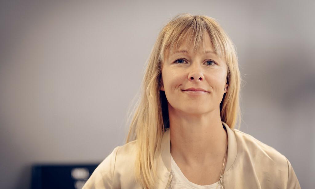 NESTSJEF: I Vipps Elisabeth Haug sier at det er viktig at en uttrykker at kvinner har ekspertisen en trenger for å bli sjef. Foto: Vipps.