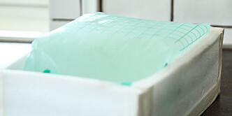 Isboks: En isolert boks kan du lage av skumplater og lerretsteip. Foto: Øivind Lie-Jacobsen