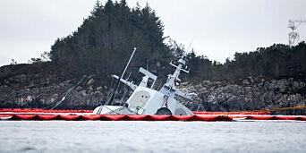 image: Miljødirektoratet mener de ble varslet for sent etter fregattforliset