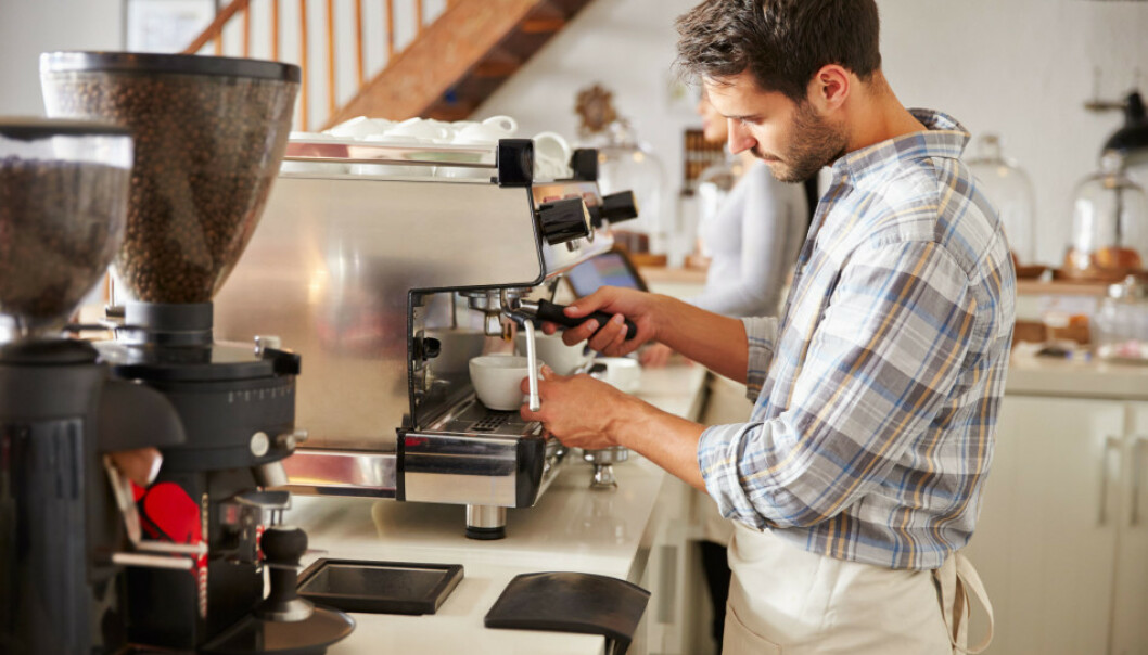 <strong>MINSTELØNN:</strong> Serveringsbransjen er et av yrkene som har innført minstelønn for ansatte. Foto: Shutterstock/NTB Scanpix