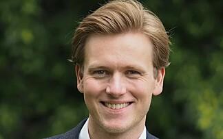 VIL HA REGULERT SALG: Unge Venstre-leder Sondre Hansmark. Foto: Unge Venstre