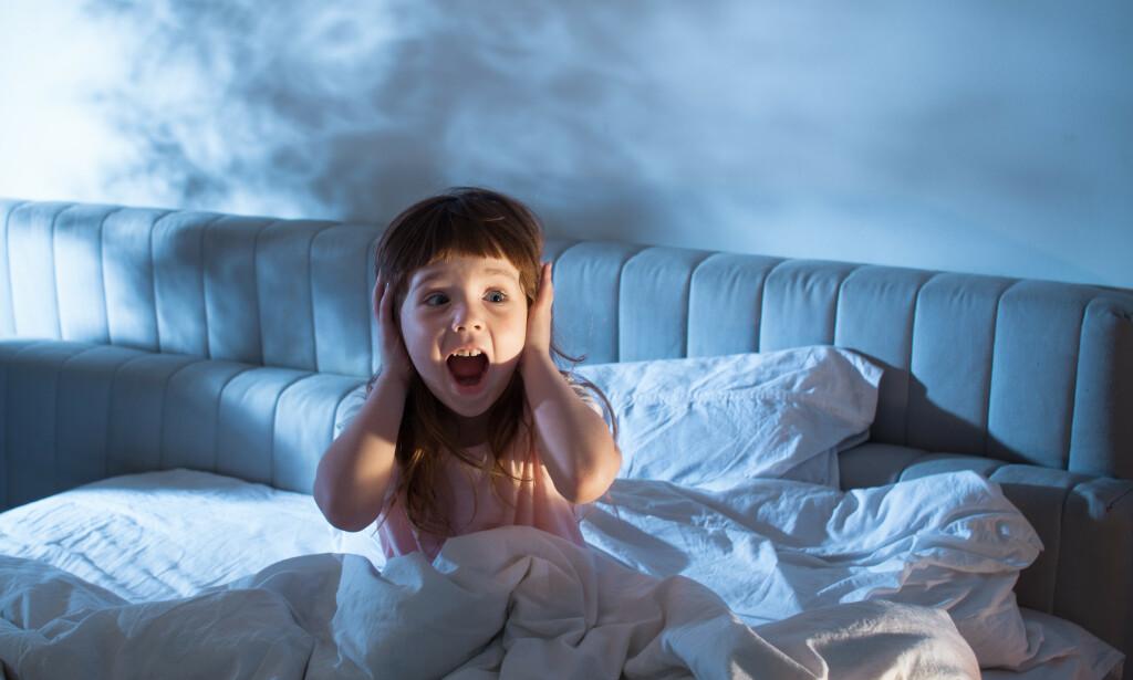 NATTLIG SKREKKANFALL: Natteskrekk kan oppleves som dramatisk og skremmende for familien. Foto: NTB Scanpix/Shutterstock