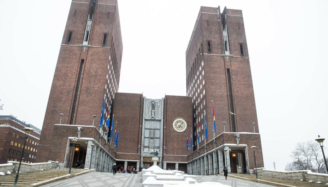 Byrådet i Oslo foreslår å betale tilbake nær 150 millioner kroner av eiendomsskatten for 2017. Foto: Terje Pedersen / NTB scanpix