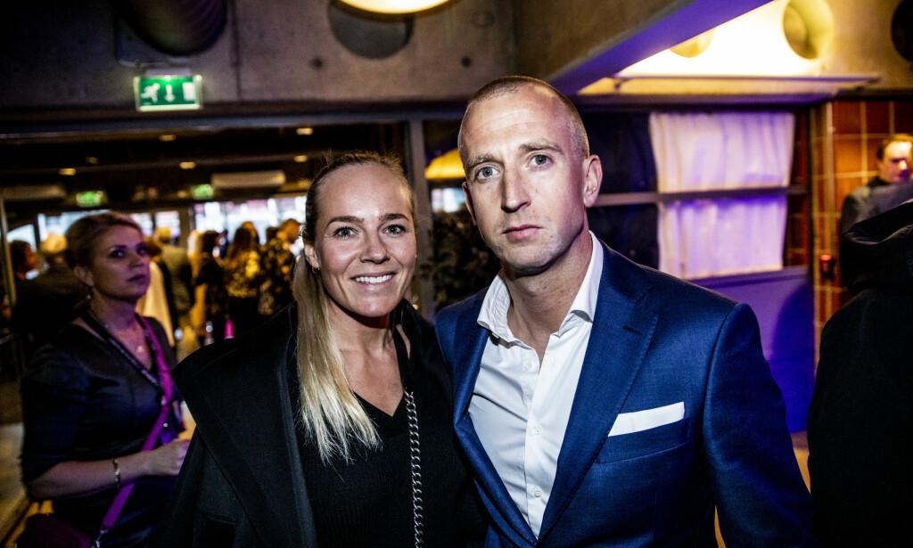VENTER BARN: Gunnar Greve og Henny Stenshaug Pettersen avslører at de venter sitt første barn sammen. Foto: Christian Roth Christensen / Dagbladet