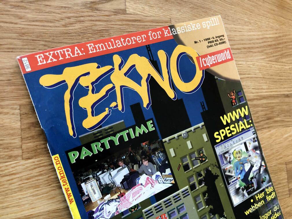 Norske Tekno-magasinet var pionerer på å dekke data- og internettkultur. I første utgaven fra 1998 prøvd de å gi noen velmenende tips til webutviklere. 📸: Jørgen Jacobsen