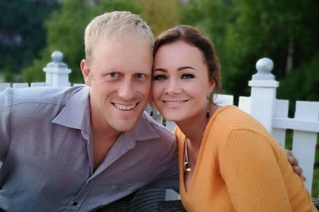 SAMBOERE: Oddvar og Anne Maiken ble samboere for over ett år siden. Foto: Privat