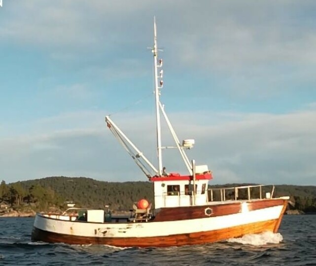 SOMMERKLAR: Denne båten vil trolig bli flittig brukt i sommer med både samboer og barn. Foto: Privat